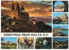 GREETINGS FROM MALTA (PUBL.JOHN HINDE) - Malta