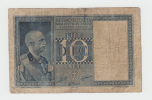 Italy 10 Lire 1938 VG P 25b  25 B - [ 1] …-1946 : Koninkrijk