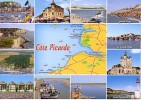 La Baie De Somme, La Côte Picarde : Carte Et Multi-vues - Frankreich