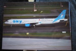 AIRBUS A 321    SKY AIRLINES  TC SKL  DUSSELDORF AIRPORT - 1946-....: Moderne