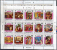 2163 Painting Religie Pope 1969 Yemen 2Sheets MNH 40ME - Religious