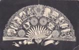 18145 - Boissy St Leger Multi Vues, Eventail . Sans éditeur, Pliures !