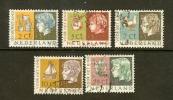 NEDERLAND 1953 Kinder Zegels Used 631-635 #112 - Period 1949-1980 (Juliana)