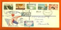 RHODESIA-NYASSA 1960 FDC With Address Kariba Electic Worx 34-39 - Rhodesia & Nyasaland (1954-1963)