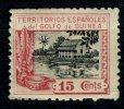 GUINEA 1924** MNH, SIN FIJASELLOS. CASA DE NIPA - Spaans-Guinea