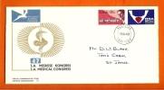 RSA 1969 FDC Nr. 11 Medical Congress With Address - Health