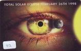 TELECARTE * Éclipse Soleil - Solar Eclipse - Éclipse Lunaire - Lunar Eclipse (42) - Astronomie