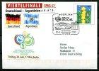 """Allemagne,Germany 2006 Privatplusbrief Fußball WM Viertelfinale Mit SST"""" Berlin.Deutschland-Argentinien   """"1 Beleg Used, - World Cup"""