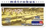 76 ROUEN ET AGGLO  TICKET TRANSPORT  1 VOYAGE 1952 VOIR SCANNER - Bus