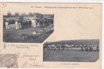 18183 MANOEUVRES AUTOMNE 11e DIVISION -1902- 20e Corps. Visite Cheveaux Artillerie (damas Bois) Convoi Ceintrey / Royer - Manoeuvres