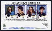 AZERBAIJAN 1995 Women Astronauts Blocks  MNH / **. - Space
