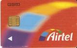 A-15/1 TARJETA DE ESPAÑA DE AIRTEL GSM-SIM  CON LOGO - Airtel