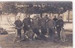 18187 Carte Photo - Guerre De 1914, Vive La France ! Velo. Au Dos : Capitaine Chauchix ?  N° 78 Régiment ? - Guerre 1914-18