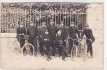 18188 Carte Photo - Guerre De 1914,  Velo. Capitaine Chauchix ?  N° 78 Régiment ? Maisons Laffitte - Guerre 1914-18