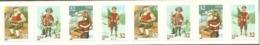 USA. Scott # 3014-17a, MNH Coil Strip Of 8 Pl # V 1111. Christmas Toys, Hard To Find. 1995 - Ruedecillas (Números De Placas)