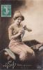 18210- 1er Avril Poisson Peche - Peche Pour Vous De Qui ? . 225 Velouté; Femme - 1er Avril - Poisson D'avril