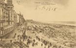 OSTENDE . LA PLAGE EN AOUT. CARTE POSTALE DE LES PREMIERES ANNEE DE 1900 - Belgique