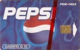 TARJETA DE GUATEMALA DE PEPSI-COLA NUEVA-MINT (COKE) - Publicidad
