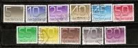 Nederland 1976-91  Numeral (o) - Period 1980-... (Beatrix)