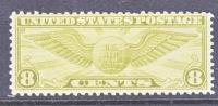 U.S. C 17    **  GLOBE  WINGS - 1b. 1918-1940 Unused