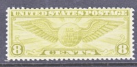 U.S. C 17    **  GLOBE  WINGS - Air Mail