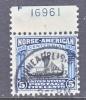 U.S. 621  (o)  Plate Single  VIKING SHIP - United States