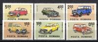 Rumänien; 1983; Michel 3950/5 **; Auto - 1948-.... Republiken
