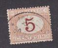 PGL - ITALIA REGNO SEGNATASSE SASSONE N°20 - 1878-00 Humbert I