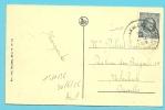 """193 Op Kaart """" KNOCKE S/Mer  / L´avenue Lippens """" Met Stempel KNOCKE - 1922-1927 Houyoux"""