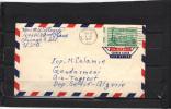 USA  Lettre  Avion 1959 Chicago Pour Gendarmerie Ain Tagrout Setif Algérie - Vereinigte Staaten