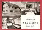 ERSTEIN KRAFT (Bas Rhin) Restaurant A LA STATION - M. WOERTH - France