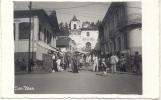 SAN BLAS PANAMA PLAZA ESPAÑA CPA RARE ANIMEE CIRCA 1910 DOS NON DIVISE UNCIRCULATED - Panama