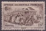 £9 - A. O F. - N°40 - OBLITERE -3 - Cameroun (1960-...)