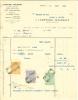 """Vieille Facture De Wégimont - Anvers ( Antwerpen )  En 1922 """" Comptoir Wégimont  """" - Unclassified"""
