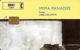 Tarjeta SPAIN P-404  Imma Panades - Coleccione Arte - Fecha 10/99 Tirada 4000 - España