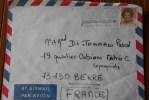 NEDERLAND 1987   BRIEF COVER LETTRE  POUR BERRE - Postal History