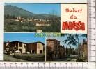 BARASSO - Panorama -  Scuola Elementare - Via Roma  -  Saluti Da Barasso  -  3 Vues - Varese
