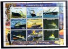 HB Minisheet  Republica De Guinee Año 1998 Barcos Nueva - Guinea Ecuatorial
