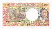 Nouvelle Calédonie - 1000 FCFP - Alphabet J.044 / 2010 / Signatures Barroux-Noyer-Besse - Neuf / Jamais Circulé - Nouvelle-Calédonie 1873-1985