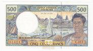 Polynésie Française - 500 FCFP - Alphabet C.013 / 2010 / Signatures Severino-Redouin-Cornaill E - Neuf  / Jamais Circulé - Papeete (Polynésie Française 1914-1985)