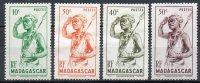 Madagascar  Madagaskar  Y&T 300* - 303* - Madagaskar (1889-1960)