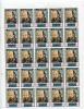 Qiwain 1967 Sheet  Of 25 Stamps  MNH Art Self Portrait Cezanne CV 25 Euro - Unclassified