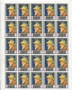 Qiwain 1967 Sheet  Of 25 Stamps  MNH Art Self Portrait Renoir CV 45 Euro - Art