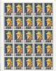 Qiwain 1967 Sheet  Of 25 Stamps  MNH Art Self Portrait Renoir CV 45 Euro - Unclassified