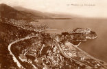 MONACO - La Principauté. Carte Photo. Voyagée 1927 - Non Classés
