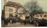 CPA 1911 BIEN ANIMEE LABASTIDE L'EVEQUE PLACE DE LA FONTAINE - France