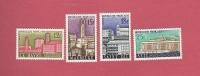 *( Réf  Perso  Fer ALB ) - YT France N°1152 à 1154 . Neuf ** Légere Adhérence Sur 1154 : Villes Reconstruitres - Francia