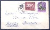 SUISSE   PRO JUVENTUTE   Cachet  GENEVE Le 13 XII 1952  Affanchissement De 2 Timbres Pour BRUXELLES Belgique - Lettres & Documents