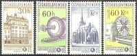 TSCHECHOSLOWAKEI CZECHOSLOVAKIA TCHECOSLOVAQUIE 1959 Mi-Nr. 1133/36 ** MNH (0862) - Czechoslovakia