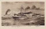 "RP; Sinking Of German Cruiser ""DRESDEN"" By HMS's ""Glascow,Kent & Orama"",Falkland Islands, 1915 - Falkland Islands"